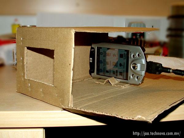 DIY PocketPC based projector - Jaa's Blog
