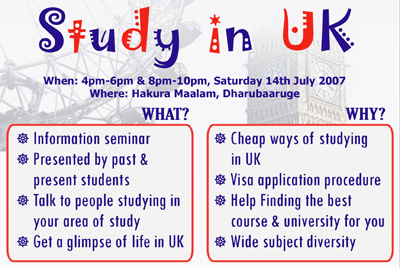 MSA-UK Study in UK seminar